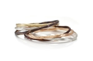 Image of twig bangle set