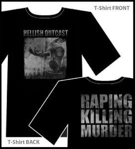 Image of Raping-Killing-Murder t-shirt