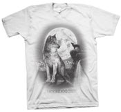 Image of Wolf T-Shirt - White