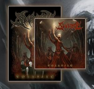 "Image of SAVAGERY ""volatile"" CD"