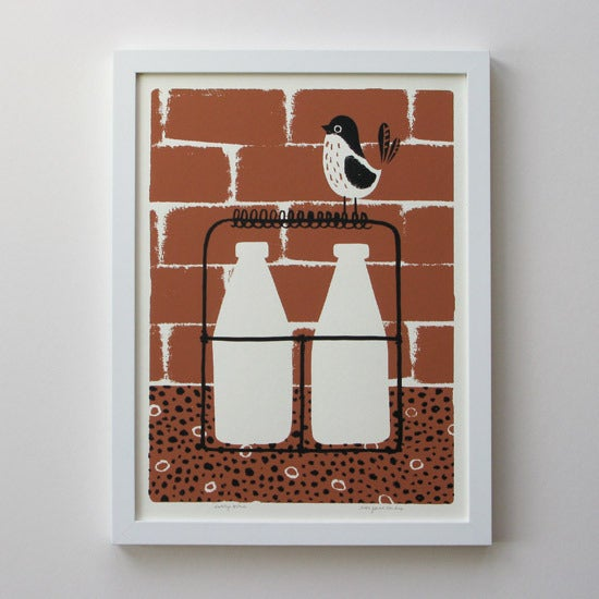 Image of Silkscreen Print | Early Bird