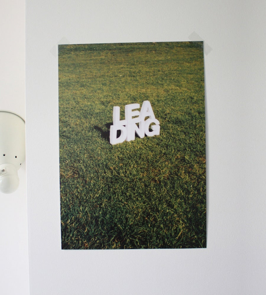 Image of Leading: Typographic Detailing poster