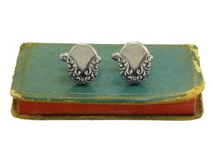 Image of Victorian Carved Cufflinks
