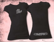 Image of Womens Blasted Short Sleeve T-Shirt