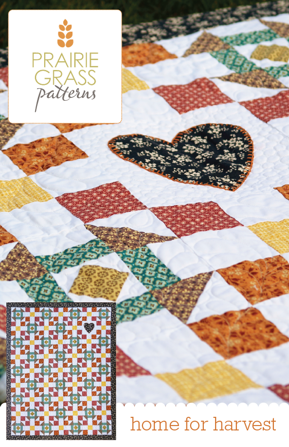 Image of Home for Harvest: Quilting Pattern #110
