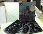 Image of Johnny Foreigner- 3D Pop-Up CD  'Arcs Across The City'