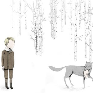 Image of Forest Encounters Giclee Art Print