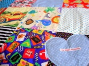 Image of boys super soft play quilt