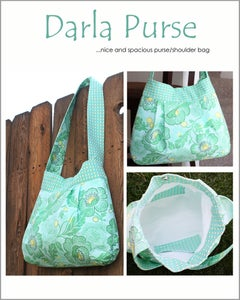 Image of The Darla Purse Pattern - PDF Sewing Pattern