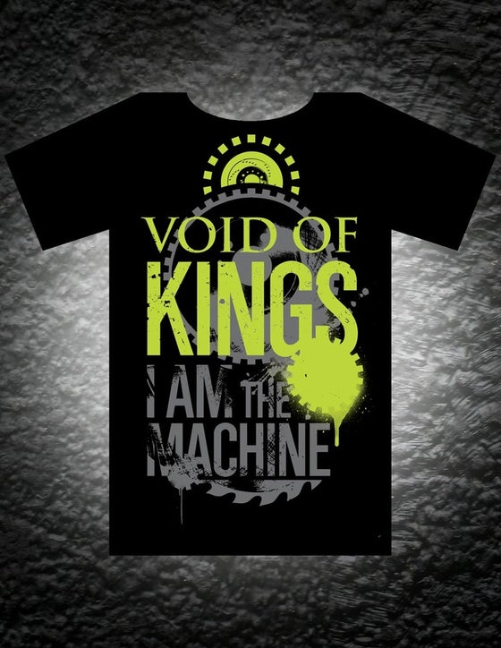 Image of I Am The Machine Tee