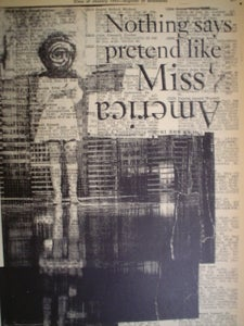 Image of miss america print