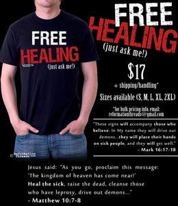 Image of Free Healing Tee