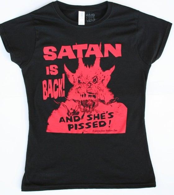 Image of Satan is Back! Ladies & Guys T-Shirt.