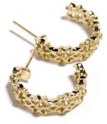 Image of Gold Hoop Earring