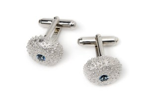 Image of Silver Sea Urchin Cufflinks
