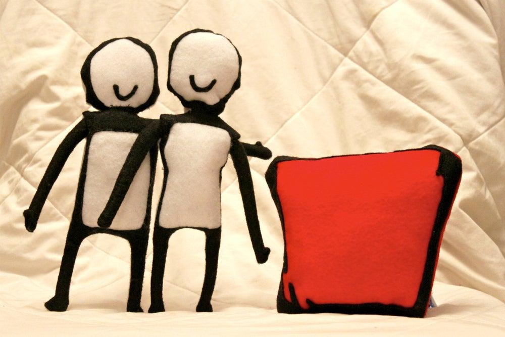 Image of scribblez plushies