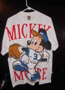 """Image of Vintage Mickey Mouse """"Home Run"""" tee"""