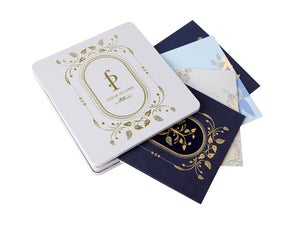 Image of Gift Cards - 8 cards (White Tin)
