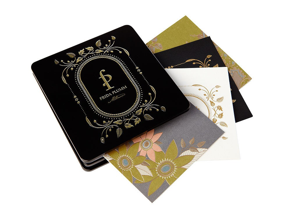 Image of Gift Cards - 8 cards (Black Tin)