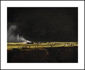 "Image of ""Nomad Camp"" Print 63cm x 77cm"