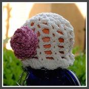Image of Spring Bloom Hat - Cream/Rose