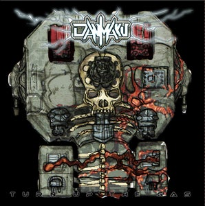 Image of Danmaku - Turn Up The Gas CD Album