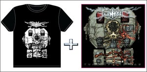 Image of Danmaku - Turn Up The Gas CD/Tshirt Combo