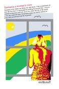 Image of 'Tasmania a woman's view' -  Tea towel V1