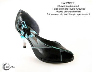 Image of HARPALYCE Noir/Turquoise