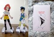 "Image of ""KOKO BE GOOD"" paper dolls"