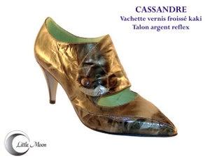 Image of CASSSANDRE Kaki/Argent