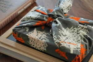Image of GIVE WISDOM Reusable Fabric Gift Wrap