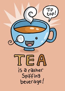 Image of Large Tea Print