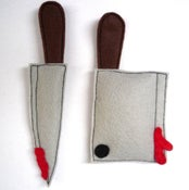 Image of 2 Knives Organic Catnip CAT TOY Handmade by Oh Boy Cat Toy