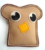 Image of Toast Organic Catnip CAT TOY Handmade by Oh Boy Cat Toy