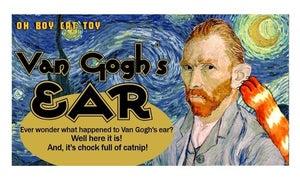 Image of Van Gogh's Ear Organic Catnip CAT TOY Handmade by Oh Boy Cat Toy