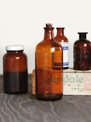 Image of Set of 4 Apothecary Bottles