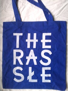 Image of Blue Logo Tote Bag