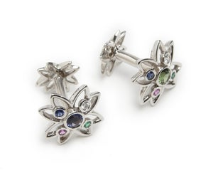 Image of Flower Cufflinks
