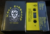 Image of XRAY EYEBALLS :: NOT NOTHING LP (whoa 005)