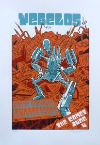 Image of Webelos Poster- Robot by Bryan Mandronico