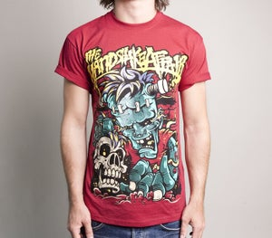 Image of Frankenstein shirt red