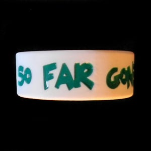 Image of So Far Gone Rubber Bracelet