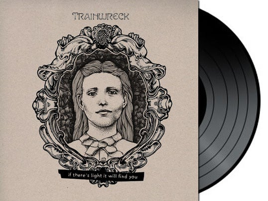 """Image of TRAINWRECK """"IF THERE'S LIGHT IT WILL FIND YOU"""" 12"""" EP VIT021"""
