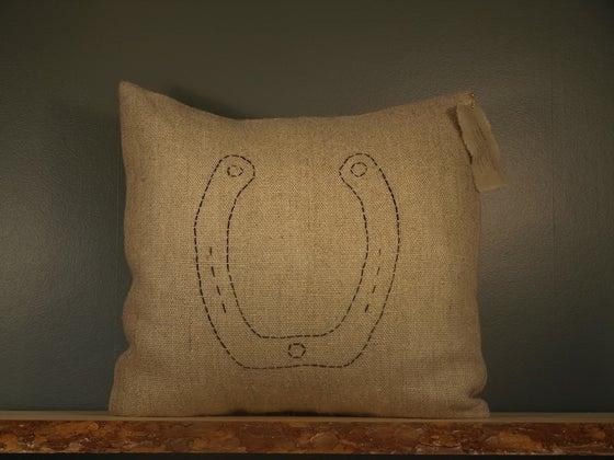 Image of Horseshoe Pillow