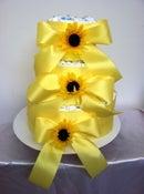 Image of Sunflower Diaper Cake