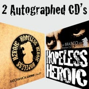 Image of CD Bundle (Mechanical Lions & Brasco DC signed)