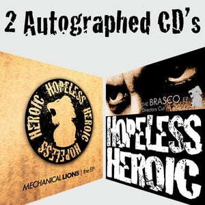 Image of CD Bundle (Mechanical Lions & Brasco DC signed)