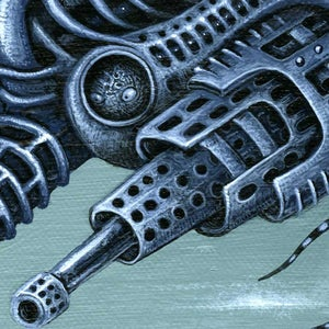 """Image of MACHINE FORM ~ 12 x 12"""" Open Signed Edition"""
