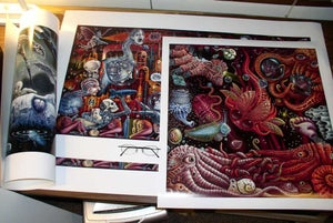 """Image of FAT KING DREAMING ~ 11 x 14"""" Open Signed Edition"""